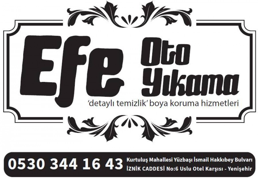 EFE OTO YIKAMA OTO PASPAS İHTİYACI İÇİN BİZİ TERCİH ETTİ