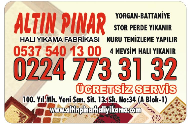 ALTIN PINAR HALI YIKAMA