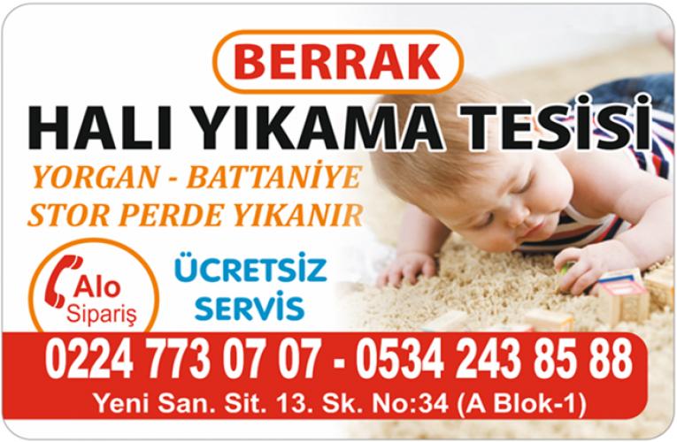 BERRAK HALI YIKAMA